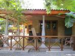 carbana with outside kitchen