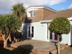 Sandy Shores Croyde Holiday Cottages Outside Back Garden