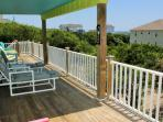 Furnished Deck | covered and open