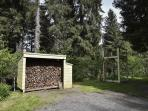 Wood Shed and Lookout