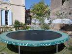 Giant trampoline for kids (and mums and dads!)