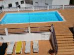 Shared pool - see details. less than 3 minutes away by foot.