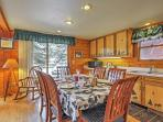 Gather around the dining table to share memories and meals with your loved ones.