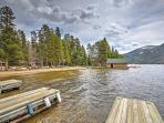 Enjoy days on the lake at this fantastic Grand Lake vacation rental cabin!