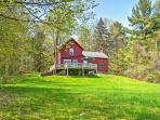 There's so much to discover when you stay at this fantastic Stockbridge vacation rental house!