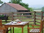 Mid Wales holiday cottage with country side views