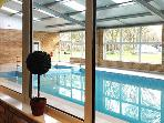 Indoor swimming pool at Goosewood Holiday Park