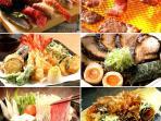 Enjoy authentic Japanese food!!
