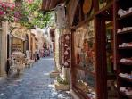 Shop for souvenirs in the quaint little stores