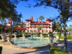 Take a tour of the famous Flagler College Downtown