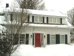 This is our house in winter, close to 5 ski areas: Stowe, Sugarbush, Mad River, Bolton, & Trapp F.L.