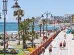 Malaga city - seafront - 25 mins drive