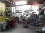 old workshop where Carlo Guzzi with uncle Giorgio costructed in 1919 the prototype of Moto Guzzi
