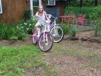 Enjoy a bike ride or a stroll
