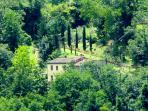 Il Maniero. The property.