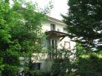 green house, southern façade