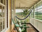 Retreat Plantation House - side veranda with hammock