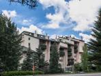 Book this 7th floor Evergreen Lodge condominium for your next Colorado vacation!