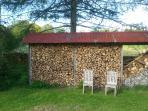 plenty of dry firewood