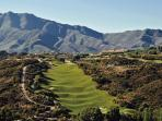 La Cala Golf Resort, spectacular views! Buggy needed for this course, stunning!