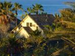 Ocean view 2-bedroom, 2-bath villa, sleeps 6- to 8-guests.