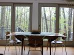 Dining room table - can expand to seat at least 8 if not 10!