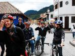 Bogota is a global icon for promoting the use of bicycles as an alternative mode of transportation.