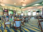 The Oasis Clubhouse - the grille room