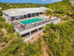 Le Mas Caraibes at Terres Basses, Saint Maarten - Ocean View, Pool, Sunrise and