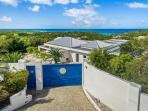 Grand Bleu ...4 BR luxury vacation rental villa French St Martin...******* 8555