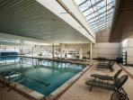 Spend some time at the pool, with hot tubs and sauna.