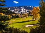 Beautiful Beaver Creek ski mountain and golf course.