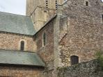 Hambye Abbey worth a visit, 30 mins from us