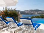Enjoy The View To Kalkan From The Luxury Of Your Sun Lounger