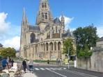 Bayeux Cathedral  a lovely day out while you are staying with us