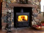 Living Room Log Burner