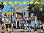 Shopping in Provincetown.
