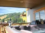 Your private hot tub awaits after skiing, golfing or mountain biking