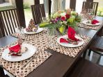 Villa 3 - Dinning Table
