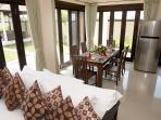 Villa 3 - Living room & Dinning area