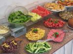 Yildirim Hotel Denizli Breakfast (free with your stay at the apartment)
