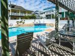 Sand Point Neighborhood's Private Pool/Hot Tub Area