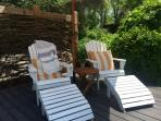 Who doesn't love relax in the most comfy adirondack chairs ever!