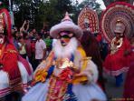 Scene from Cochin Carnival