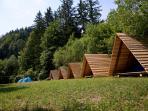 Our kocura huts