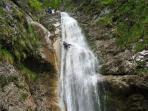 Our sports: canyoning