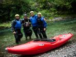 Our sports: Rafting