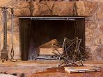 Modern Zen, Fireplace