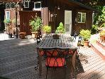 Modern Zen, Outdoor dining