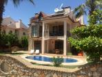 Front of Villa Yakamoz